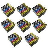 Compatibile con le stampanti Seguendo Epson BX3450 Stampanti Epson Stylus CX4300 D120 D5050 D78 D92 DX400 DX4000 DX4050 DX4400 DX4450 DX5000 DX5050 DX6000 DX6050 DX7000F DX7400 DX7450 DX8400 DX8450 DX9400 DX...