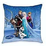 Disney Eiskönigin Frozen - Kinder Kissen Dekokissen Freunde 40x40cm