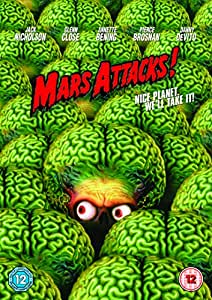 Mars Attacks! [DVD] [1996]