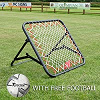 The Soccer Store Football Rebounder Net. High Performance Rebound Net (100 x 100cm)