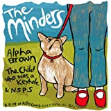 Minders 11/8/04Edición limitada de la pantalla de seda impresión de música Póster de Leia Bell Original firmado y numerados con: Minders, Alpha marrón, niño que era un ojo), Pen