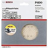Bosch Professional 5 Stuks Schuurblad M480 Best for Wood and Paint (hout en verf, Ø 150 mm, korrelgrootte K400, accessoire ex
