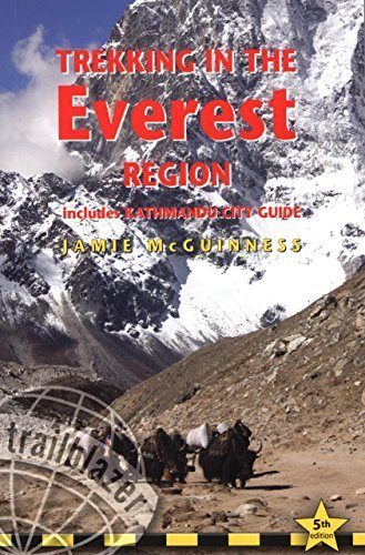 Trekking in the Everest Region: Includes Kathmandu City Guide 5th edition by Mcguinness, Jamie (2009) Paperback