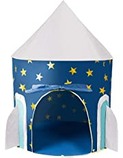 Webby Foldable Space Rocket Play Tent for Kids