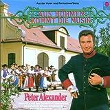 Songtexte von Peter Alexander - Aus Böhmen kommt die Musik