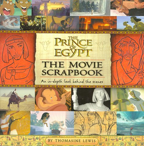 The Prince of Egypt: The Movie Scrapbook (Picture Puffin S.)