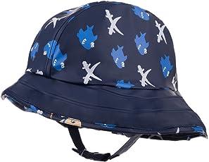 Maximo 54503 - Jungen Regenhut Regenmütze Südwester mit Jerseyfutter- Motiv Sharky