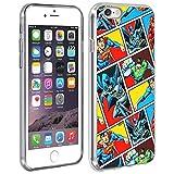 DC Comics Coque iPhone 6 / 6S Coque Justice League Protection Silicone Gel Souple à...