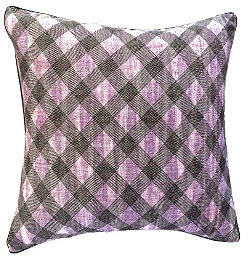 the-indian-promenade-16-x-16-cm-imprime-a-carreaux-en-polycoton-khaadi-housse-de-coussin-lilas