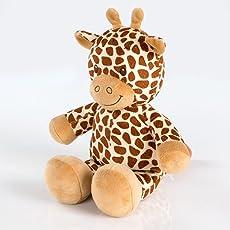 Kuschelige Spieluhr/ Musikuhr/ Einschlafhilfe in Versch. Motiven und Melodien, Melodien:Lalelu, Spieluhren:Spieluhr Giraffe