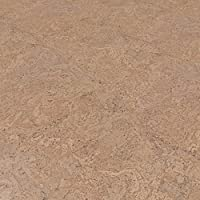 CORCASA Korkboden Design strukturiert lackiert Klicksystem warmer Kork Bodenbelag Klick Hammada