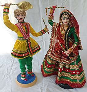 Indian Traditional Navratri Garba Dolls