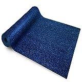 etm® Sicherheitsmatte gegen Glätte | Blau | rutschfeste Granulat Beschichtung | deutsches Qualitätsprodukt | 120 cm Breite | 8 m Länge