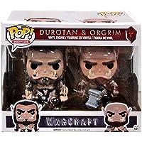 Funko - Figurine World of Warcraft Movie - 2 Pack Durotan & Ogrim Exclu Pop 10cm - 0849803093150
