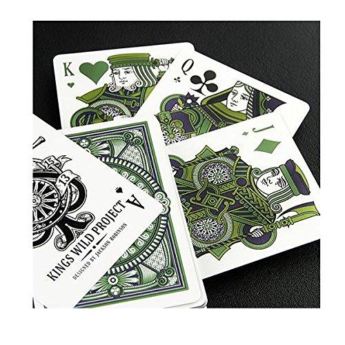 cartas-de-juego-tally-ho-emerald-white-edition