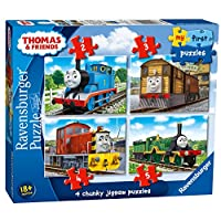 Ravensburger My First Puzzle, Thomas & Friends (2, 3, 4 & 5pc) Jigsaw Puzzles