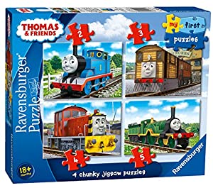 Ravensburger My First Puzzle, Thomas & Friends (2, 3, 4 y 5 Piezas) Puzzles de Sierra
