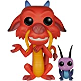 Funko - Pop! Vinilo Colección Disney - Figura Mushu & CRI-Kee (5898)