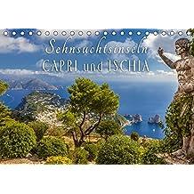 Sehnsuchtsinseln Capri und Ischia (Tischkalender 2018 DIN A5 quer): Träume vom azurblauen Meer begleiten Sie durch das Jahr (Monatskalender, 14 Seiten ... [Kalender] [Apr 08, 2017] Müringer, Christian