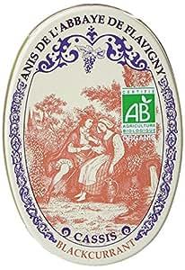 Les Anis De Flavigny Bonbons Cassis Bio Boite Ovale 50g