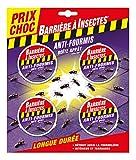 BARRIERE A INSECTES Boîte à appât Anti-Fourmis 'Prix Choc', 1 boîte/7.5m², Blister de 4 boîtes, BARFOB4P