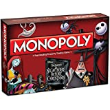 Monopoly Tim Burton's The Nightmare Before Christmas Board Game by USAopoly