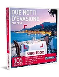 SMARTBOX - Cofanetto Regalo - DUE NOTTI D'EVASIONE, DUE CENE - Hotel 3* e 4* selezionati nella guida Michelin