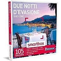 Smartbox - Cofanetto Regalo - DUE NOTTI D'EVASIONE, DUE CENE - 105 soggiorni con cena Michelin in hotel 3* e 4*