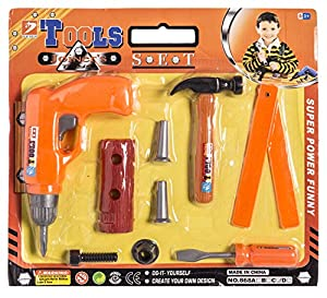 JUINSA- Herramientas 9 Pas Blíster 31X29, Color Naranja (95387)
