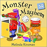 Monster Mayhem: Children's Book: Funny Rhyming Bedtime Story -  Picture Book / Beginner Reader (Ages 3-7) (Top of the Wardrobe Gang Picture 1)
