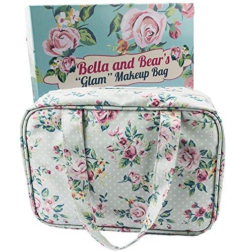 Appendere Beauty Case da Viaggio Borsa da Toilette da Borsa Trucchi da Borsa Cosmetici di Bella and Bear
