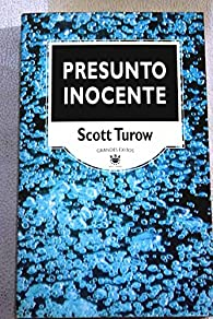 Presunto inocente par Scott Turow