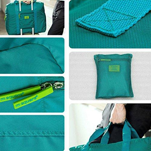 QHGstore Nylon tragbare Reise Kleidung-Organisator-Speicher-Beutel-Beutel No.4