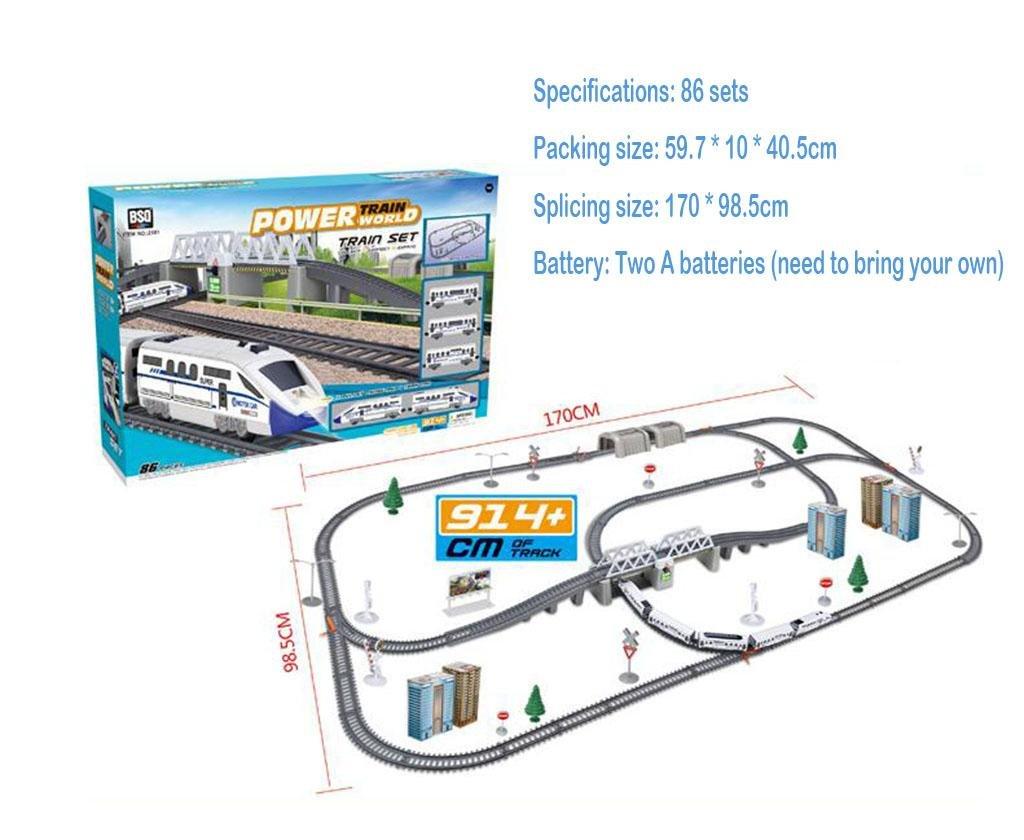 SSQ-CXO Simulazione ad alta velocità ferroviario auto auto treno elettrico Harmony bullet train gioc