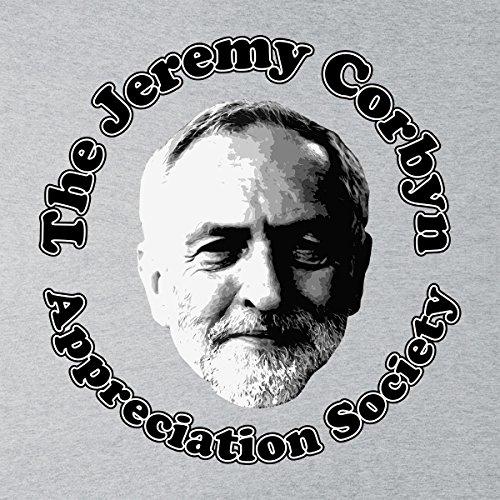The Jeremy Corbyn Appreciation Society Men's T-Shirt Heather Grey