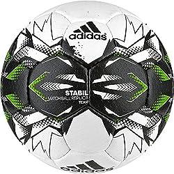 adidas Stabil Team 9 Balón de Balonmano, Unisex adulto, Blanco (Blanco / Negro / Versol), 3