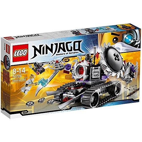LEGO Ninjago 70726 figura de juguete para niños - figuras de juguete para niños (Multi, Boy, 8 Año(s))