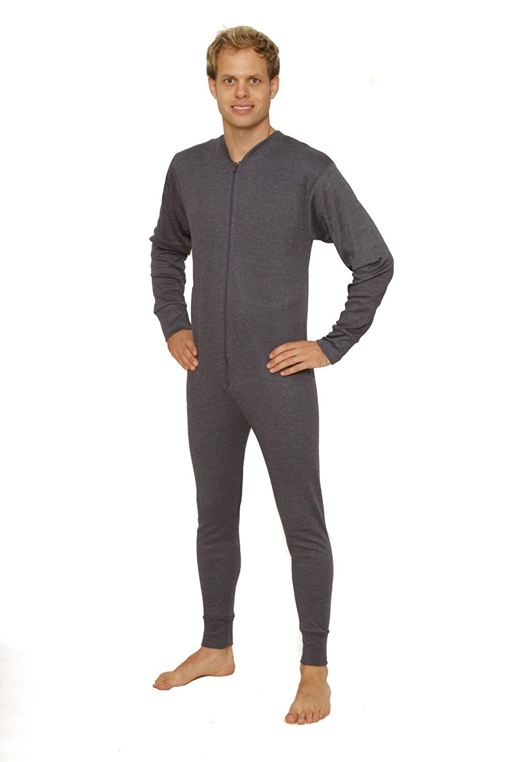 OCTAVE® Mens Thermal Underwear All In One Union Suit / Thermal ...