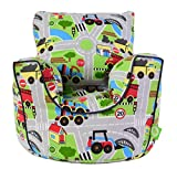 Cotton Transport Road Map Bean Bag Gaming Arm Chair with Beans Child/Teen size By Bean Lazy