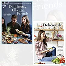 Deliciously Ella Collection 2 Books Set By Ella Mills (Woodward) With Gift Journal (with Friends: Healthy Recipes to Love, Share and Enjoy Together, Deliciously Ella: Awesome ingredients)