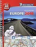 atlas routier et touristique europe 2018 michelin