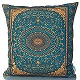 Sunburst Outdoor Living 60cm x 60cm OPULENT Federa decorativa per cuscini per divano, letto, sofà o da esterni - Solo federa, no interno
