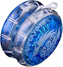 TOYMYTOY Colorful YoYo Toys Plastic Yo-Yo Ball with String Birthday Party Favors Prizes Random Color