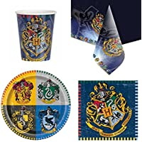 Harry Potter Party Tableware Pack for 8