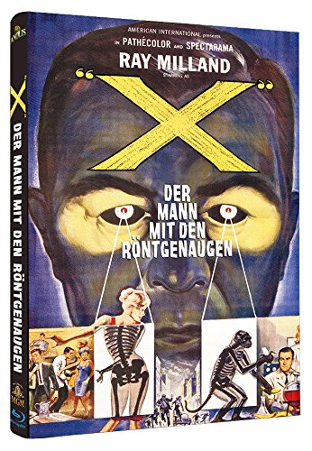 Der Mann mit den Röntgenaugen - The man with the X-Ray eyes BLU-RAY LIMITED EDITION große Hardbox Cover B