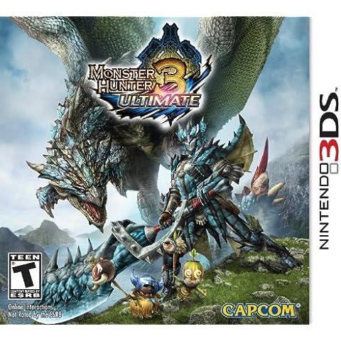 Capcom Monster Hunter 3 Ultimate - Juego (Nintendo 3DS, Acción / Aventura, T (Teen))