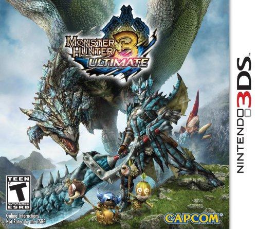 3 Hunter 2ds Monster Ultimate (Monster Hunter 3 Ultimate Nla)
