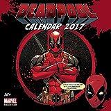 Deadpool Calendar 2017 Square