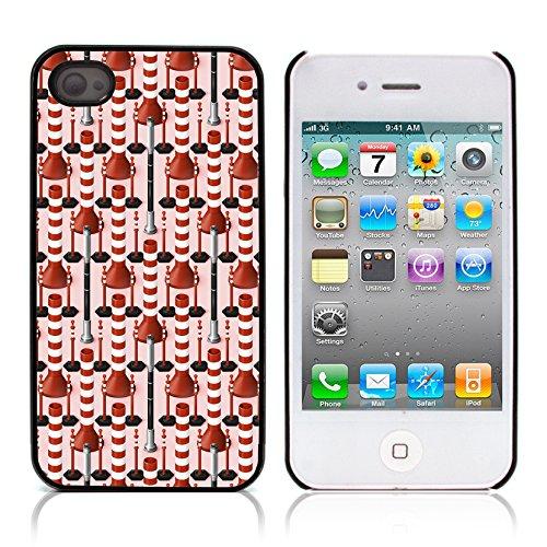 Graphic4You GLITCHY Muster Harte Hülle Case Tasche Schutzhülle für APPLE IPHONE 4 und 4S Design #5