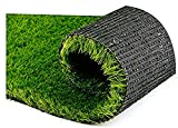 #6: Kriskindu Inc Artificial Grass For Balcony or Doormat, Soft and Durable Plastic Turf Carpet Mat, Artificial Grass Pile Height 35 mm (1.5 X 2 Feet)
